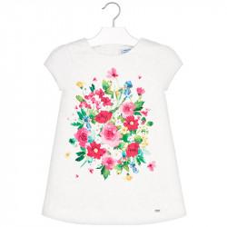 cdb027789da1 Mayoral Φορεμα ζακαρ λουλουδι πρασινο 29-03930-090 3930