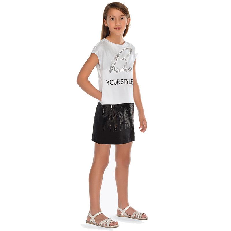 14dc669e231d Mayoral Φορεμα μακο συνδυασμενο μαυρο 29-06939-078 6939