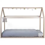 CHILDHOME Πλαίσιο Κρεβατιού TIPI Natural-White 90*200 cm BR73095
