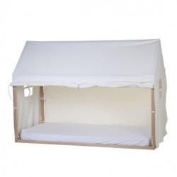 CHILDHOME Κάλυμμα White Για TIPI Natural Πλαίσιο Kρεβατιού 90*200 cm BR74050