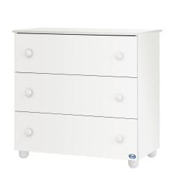 b9e53f60d33 Pali Μεγάλη Συρταριέρα Como Eco Bianco