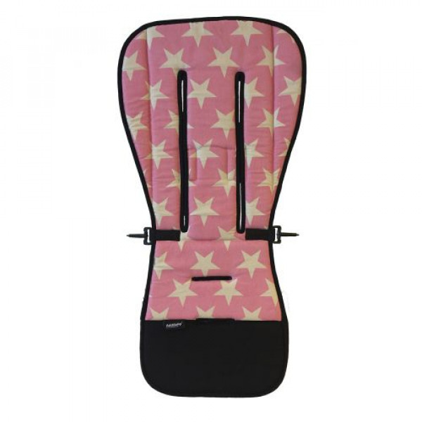 AddBaby Κάλυμμα καροτσιού Ροζ Αστέρια