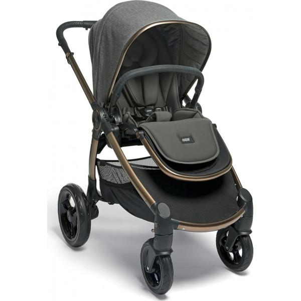 Mamas & Papas Καρότσι Ocarro Simply Luxe Με Δώρο Κάθισμα Αυτοκινήτου Maxi-Cosi Rock Black Diamond & Αντάπτορες Καθίσματος 9280094