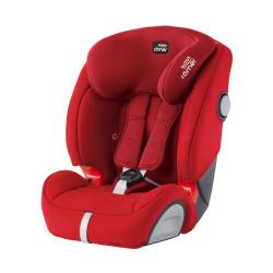 Britax Κάθισμα Αυτοκινήτου Evolva 1-2-3 SL Sict 9-36kg FIRE RED (ΔΩΡΟ SUMMER COVER ΓΙΑ ΤΟ ΑΥΤΟΚΙΝΗΤΟ)!