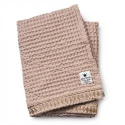 Elodie Details Κουβέρτα Αγκαλιάς Fleece 'Waffle Pink'