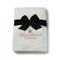 Elodie Details Κουβέρτα Αγκαλιάς Fleece 'Velvet Vanilla White'