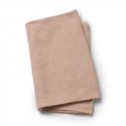 Elodie Details Κουβέρτα Αγκαλιάς Πλεκτή 'Powder Pink'