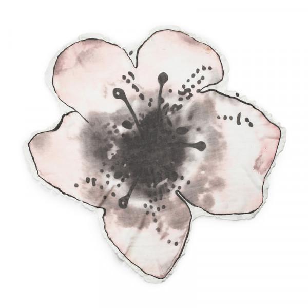 Elodie Details Κουβέρτα Μουσελίνα 'Embedding Bloom Pink'