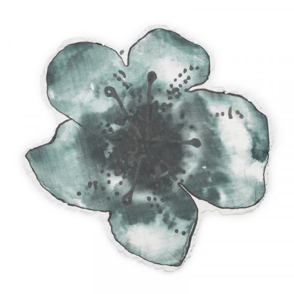 Elodie Details Κουβέρτα Μουσελίνα 'Embedding Bloom Petrol'