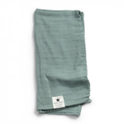 Elodie Details Κουβέρτα Μουσελίνα (Pack of 1) 'Minerall Green'