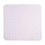 Kikka Boo Απαλή Βρεφική Κουβέρτα Jersey blanket Pink Flowers 80/80 cm 41120000004
