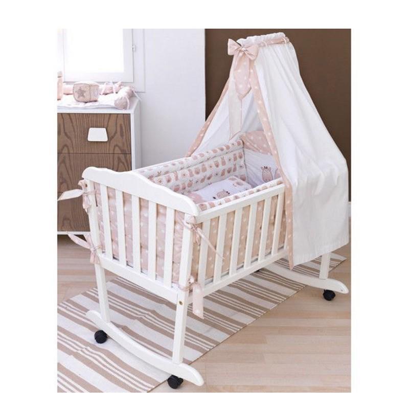 efa302417ff New Baby Προίκα Λίκνου Σετ 5 τεμ. Happy Animals 50428600