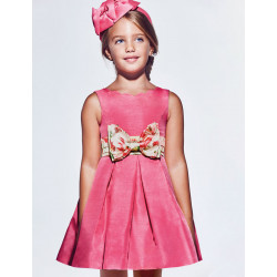 Abel & Lula Φόρεμα Shantung Φιόγκος Τσίχλα 21-05038-065