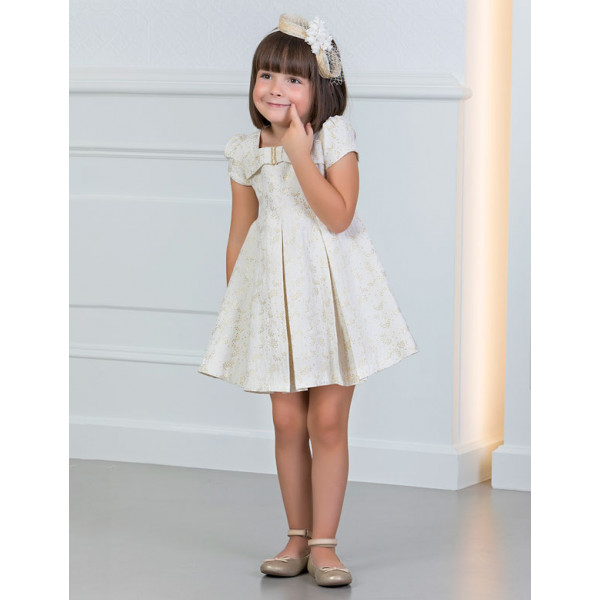e88de1b30921 Abel and Lula Φορεμα με φιόγκο Χρυσαφί 29-05008-004 5008