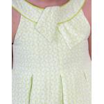 Abel and Lula Φορεμα Floral με φιόγκο στον γιακά Σταμπωτό Κίτρινο 29-05028-026 5028