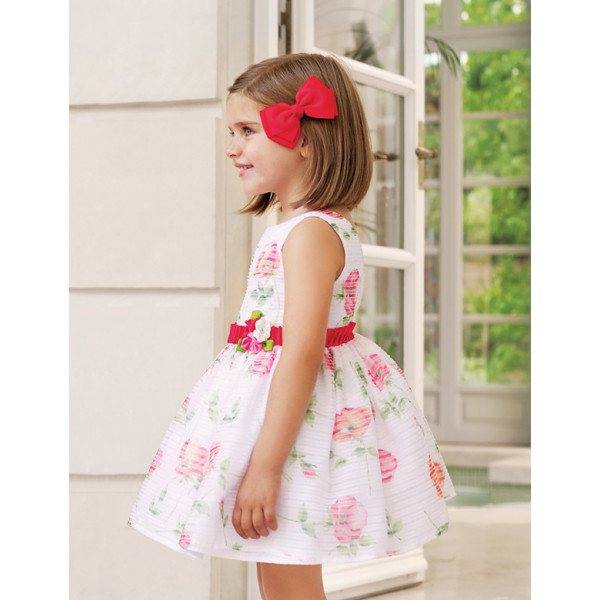 509b614f123e Abel and Lula Φορεμα Floral με απλικέ Ρόζ 29-05034-002 5034