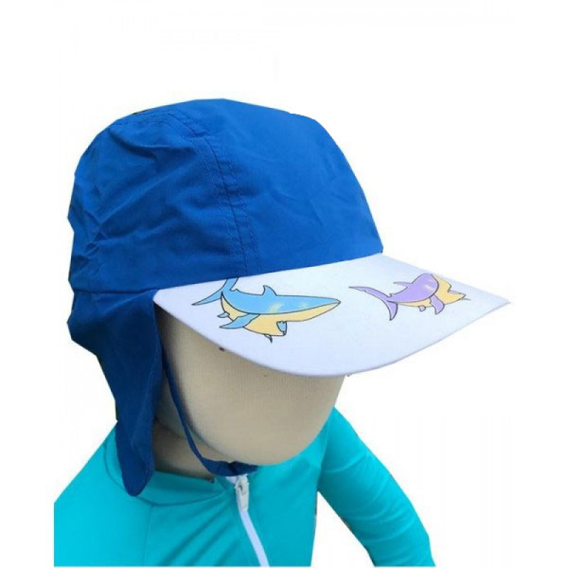 f0904507bb Babyzone Καπέλο Με Προστασία(1-6 ετών) ΜΠΛΕ