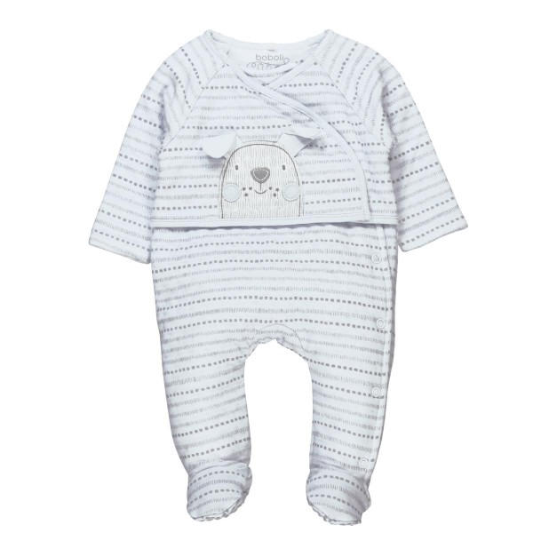 Boboli Knit play suit for baby print