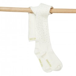 Boboli Tights for girl - off white