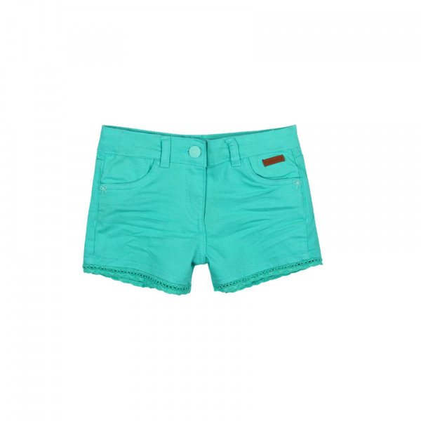 Boboli Stretch twil shorts κορίτσι ΣΟΡΤΣ ΜΠΛΕ 29-497011