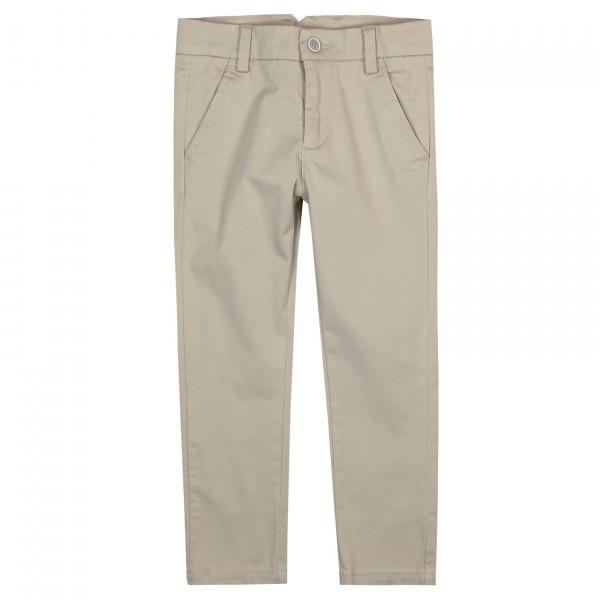 Boboli Stretch satin trousers αγόρι ΠΑΝΤΕΛΟΝΙ ΓΚΡΙ 29-737298