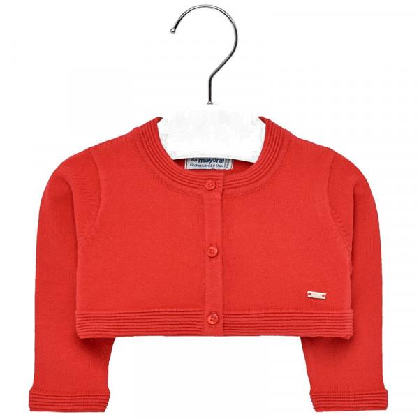 Mayoral Ζακέτα κοντή μωρό κορίτσι Κόκκινο 29-01308-017