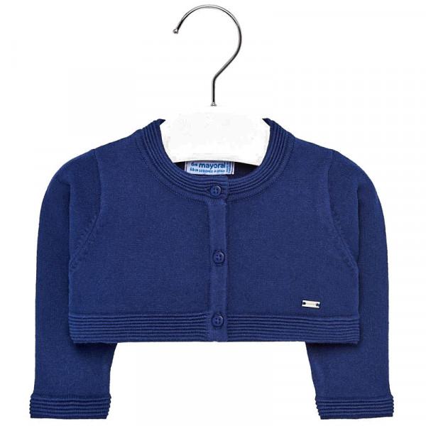 Mayoral Ζακέτα κοντή μωρό κορίτσι  Ναυτικό μπλε 29-01308-018
