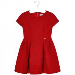 Mayoral Φορεμα ζακαρ κοκκινο 18-07928-053 7928 6173c46abe4