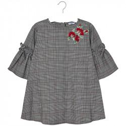 52b63773729 Mayoral Φόρεμα καρό για κορίτσι κοκκινο 18-07936-055 7936