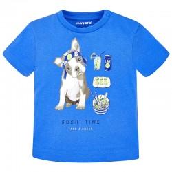 Mayoral Μπλουζα κοντομανικη σκυλακι βεραμαν 28-01044-040 1044 a73db08cecf