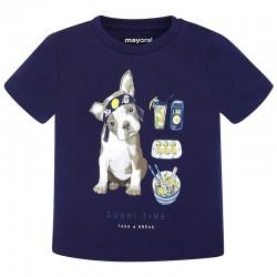 Mayoral Μπλουζα κοντομανικη σκυλακι μπλε 28-01044-042 1044 3c5c4953e40