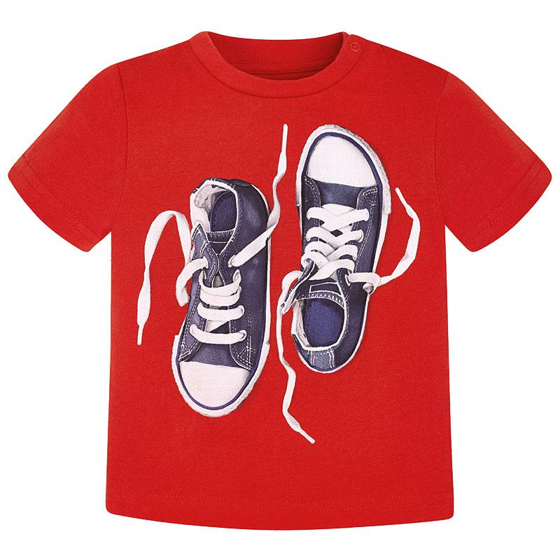 Mayoral Μπλουζα κοντομανικη παπουτσια κερασί 28-01048-036 1048 057fb9ea60f