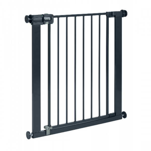 Safety 1ST Πόρτα Ασφαλείας Easy Close Metal Μαύρη 24750