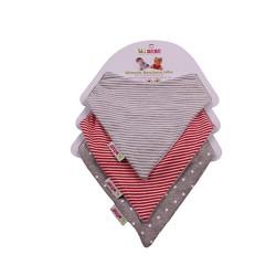 Minene Σαλιάρα - Mπαντάνα σετ 3 τεμ. unisex 12908 cd14edb1392