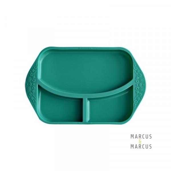 Marcus & Marcus Πιάτο δίσκος φαγητού σιλικόνης με χωρίσματα