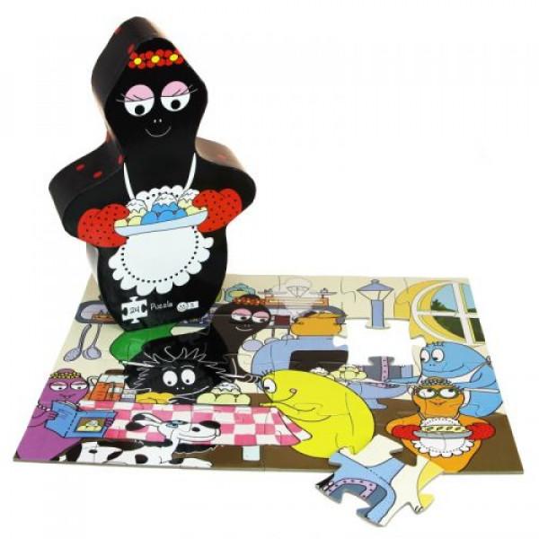 Barbo Toys Puzzle Barbamama baking 24 κομμάτια