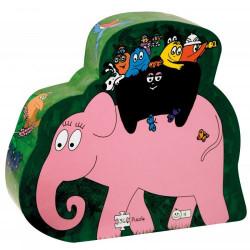 Barbo Toys Puzzle Barbapapa on safari 36 τεμάχια