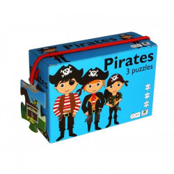 Barbo Toys 3 Puzzle Πειρατές
