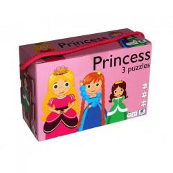 Barbo Toys 3 Puzzle Πριγκίπισσα