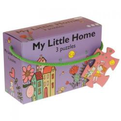 "Barbo Toys 3 Puzzle ""Το μικρό μου σπίτι"""