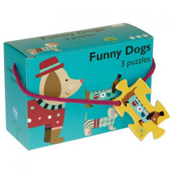 Barbo Toys 3 Puzzle Σκύλος