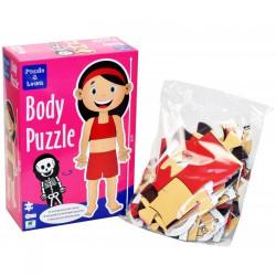 Barbo Toys Body Puzzle Κορίτσι 26 κομμάτια