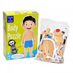 Barbo Toys Body Puzzle Αγόρι 26 κομμάτια