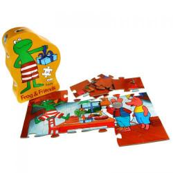 Barbo Toys Puzzle με τον Βάτραχο και τους Φίλους του