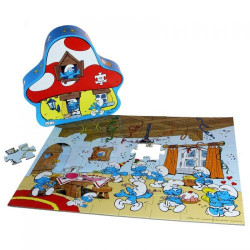 "Barbo Toys Puzzle ""Πάρτυ στο στρουμφόσπιτο"""