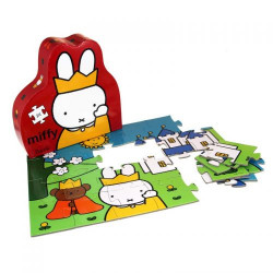 Barbo Toys Puzzle Miffy Κάστρο 24 κομμάτια