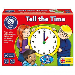 Orchard Toys Tell the Time Game