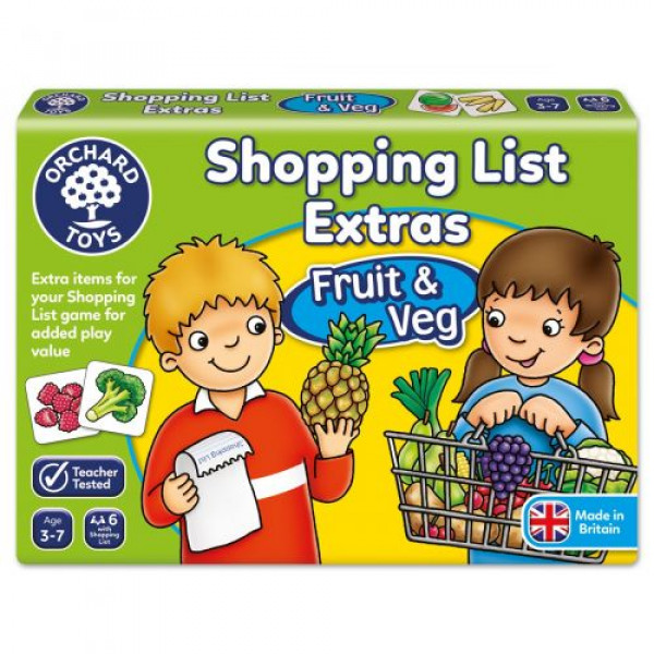 Orchard Toys Shopping List Extras - Fruit & Veg