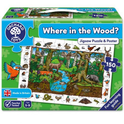 Orchard Toys Where in the Wood Jigsaw
