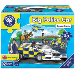 Orchard Toys Big Police Car Jigsaw Puzzle